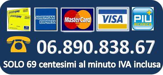 carta di credito telefono trans