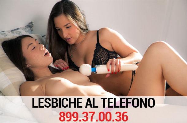 Lesbiche al telefono