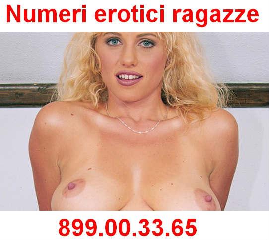 numeri erotici ragazze