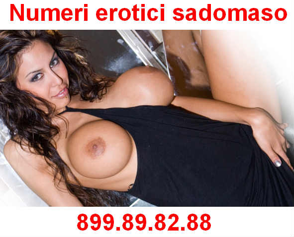 numeri erotici sadomaso