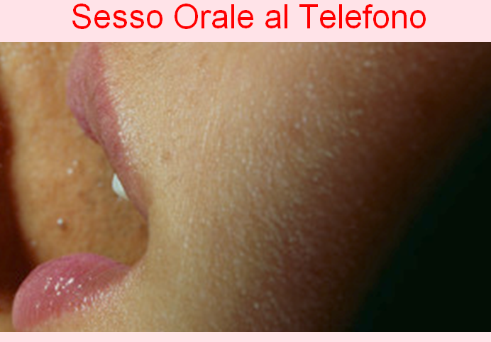 sesso orale al telefono