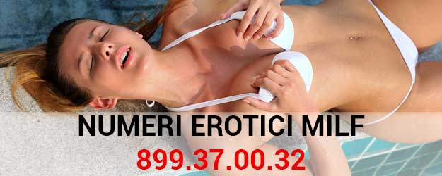 numeri erotici milf