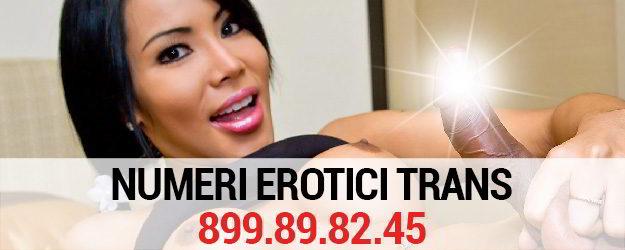 numeri erotici trans
