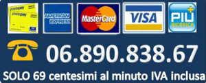 Chiama con carta di credito