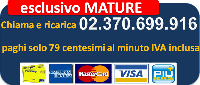 carta mature - Numeri Milf 899